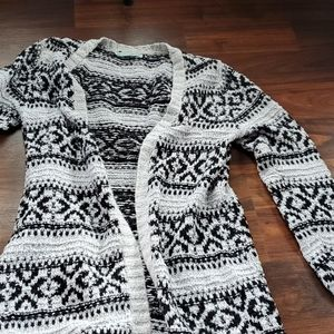 Cardigan tunic